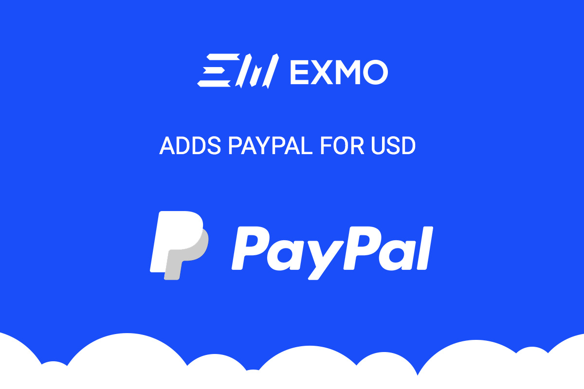 EXMO adds PayPal